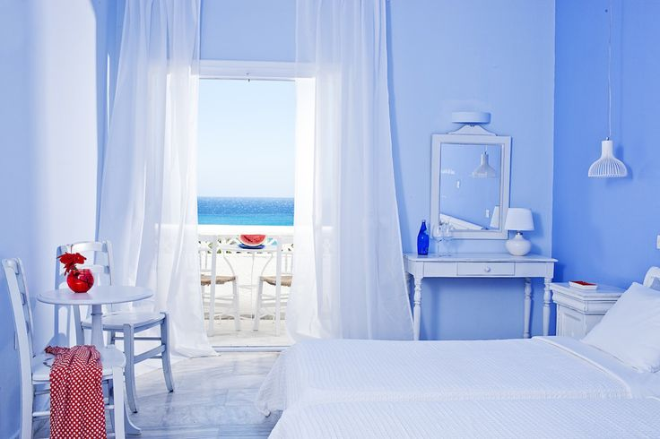 Aphrodite Beach Resort in Mykonos, styled by absee.nl