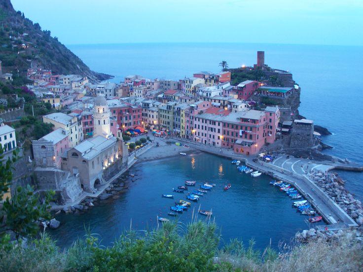 Vernazza in La Spezia, Liguria