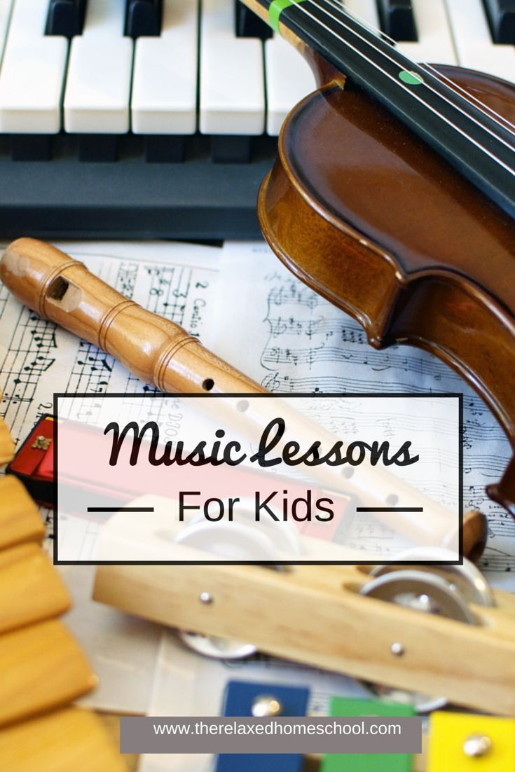 Kids Music: Teaching music in your homeschool