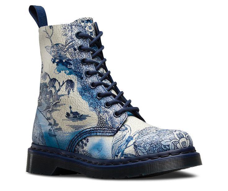 Nicht Ton Aber Das Willow Muster Erscheint Auf Doc Martens Stiefeln Cfile Fortsetzung Fashionshoot Fashioninsta Fashiontr Boots Doc Martens Boots Shoes