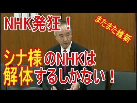 【NHK発狂!】シナ様のNHKは解体するしかない!維新の会三宅博議員の神質疑!総理を睨みつける女子アナ、捏造放送・人権侵害行為、皇室や日本への攻...//NHKはどこの国の公共放送テレビ局か?
