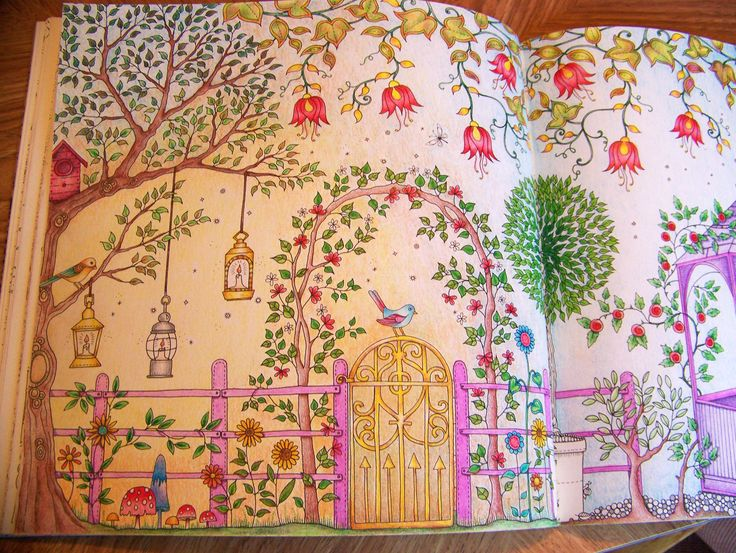 Page 1 View From The Secret Garden Book By Johanna