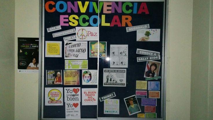 Diario mural de convivencia escolar liceo bicentenario for Carpenter papel mural santiago chile