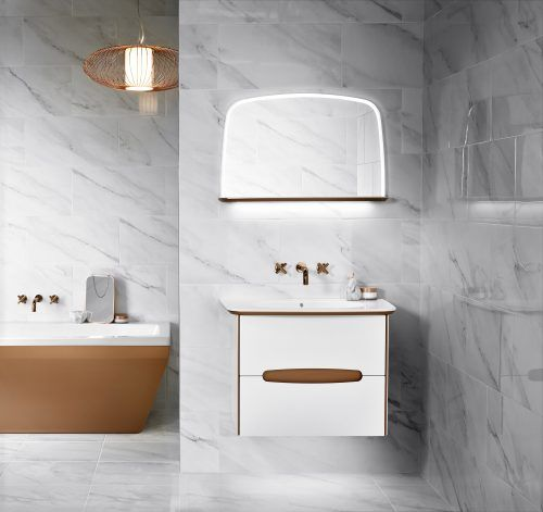 Copper and white are an incredible combination. White brings freshness and copper adds a thwack of luxury so what's not to love about this glorious pair? Utopia's Star modular range embraces these two in a way that will make your bathroom so beautiful and so practical - just be prepared to be the envy of all your friends.
