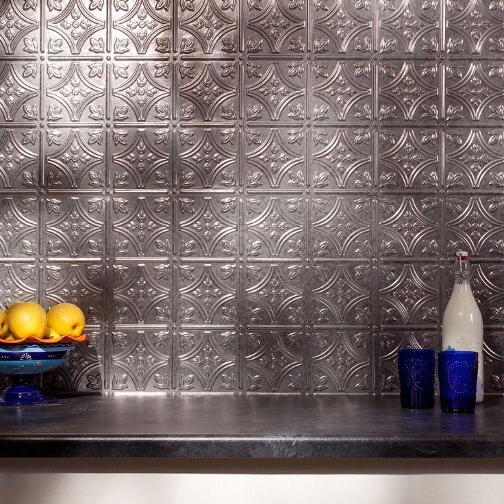 Tin Tile Backsplash, Kitchen Backsplash Tin And