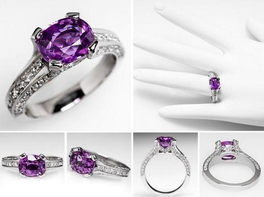 Anello-di-fidanzamento-vintage-ca.-1940-con-zaffiro-cangiante-dal-viola-al-rosa-di-3.14-carati-e-tre-fasce-laterali-in-pavé-di-diamanti.-Foto-EraGem.jpg (525×392)