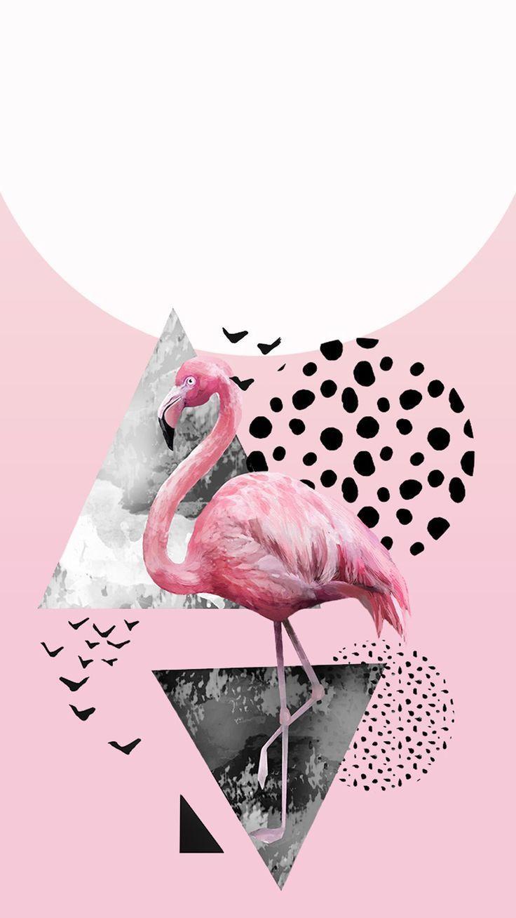Wallpaper Iphone Backgroundart Backgroundcute Backgroundillustration Backg Flamingo Wallpaper Iphone Wallpaper Apple Watch Wallpaper Lock screen iphone 7 flamingo wallpaper