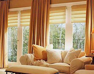 Combinación de tonos para cortinas modernas