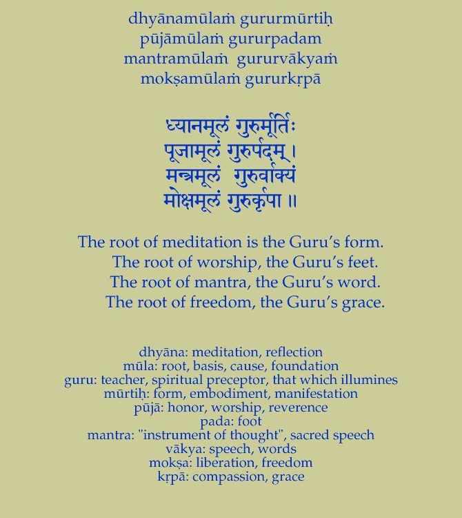 Online Sanskrit Prayers and Mantras Pronunciation Guide