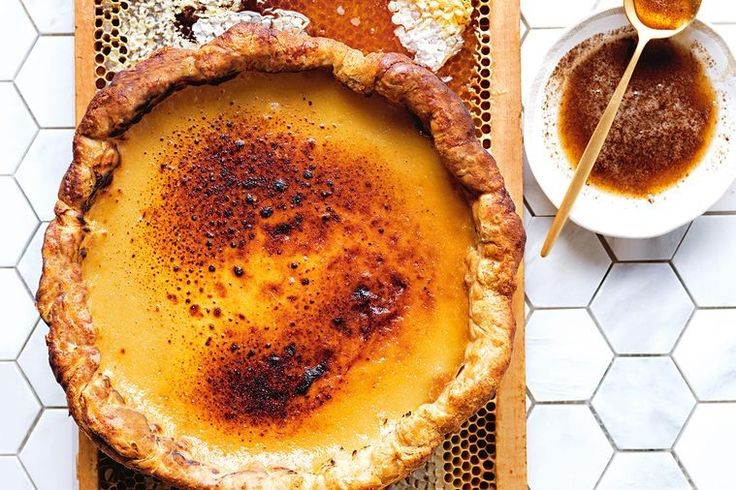 This rich, honey-spiked Portuguese tart is the perfect size for entertaining.