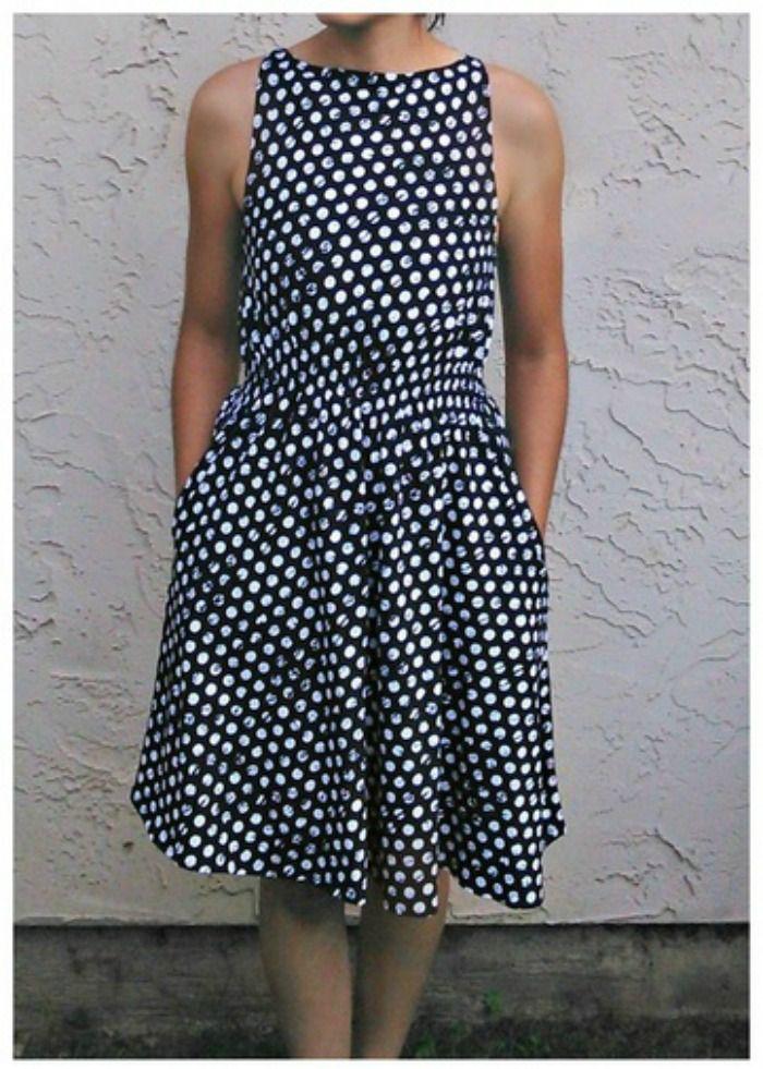 Barbara Free Dress Pattern