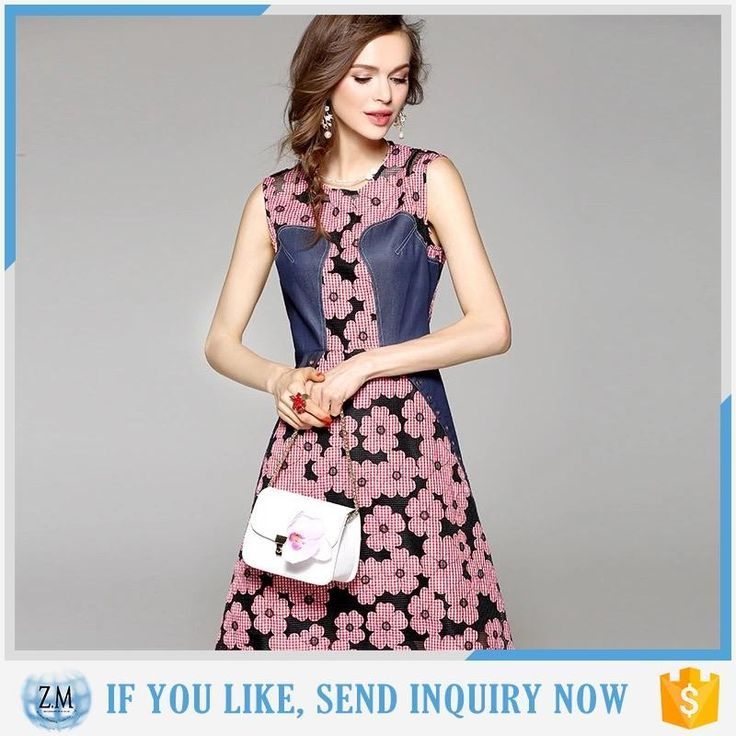 New fashion latest night dress online sale print sleeveless short dress #fashion_dress, #short