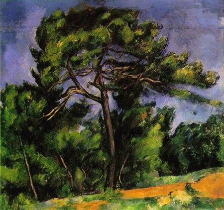 P. Cézanne - Le grand pin (1892-96) Museu de Arte de São Paulo
