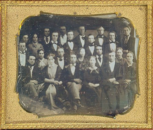 (1840s) Group of People - either of a class or an organization.
