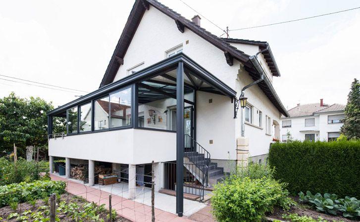 Les 25 meilleures id es de la cat gorie sas d entr e sur pinterest sas entree un sas et - Moderne entree veranda ...