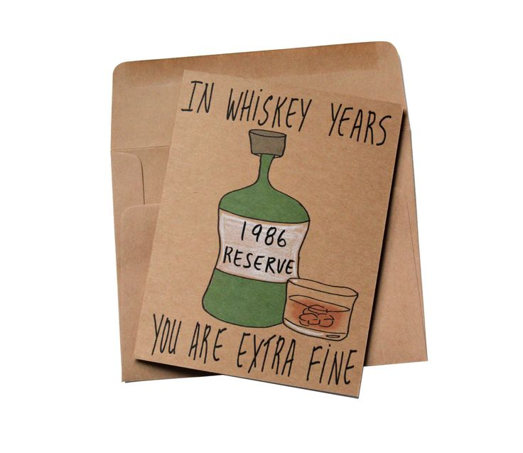 born in 1986 birthday card funny whiskey birthday card brother 30th birthday card funny customizable birthday card 1986 for whiskey lover by MashUpArt on Etsy https://www.etsy.com/listing/478401352/born-in-1986-birthday-card-funny-whiskey