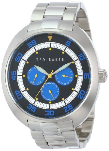 Ted Baker Watches Mens Multi Function Blue Triple Eye Watch | Your #1 Source for Watches and Accessories