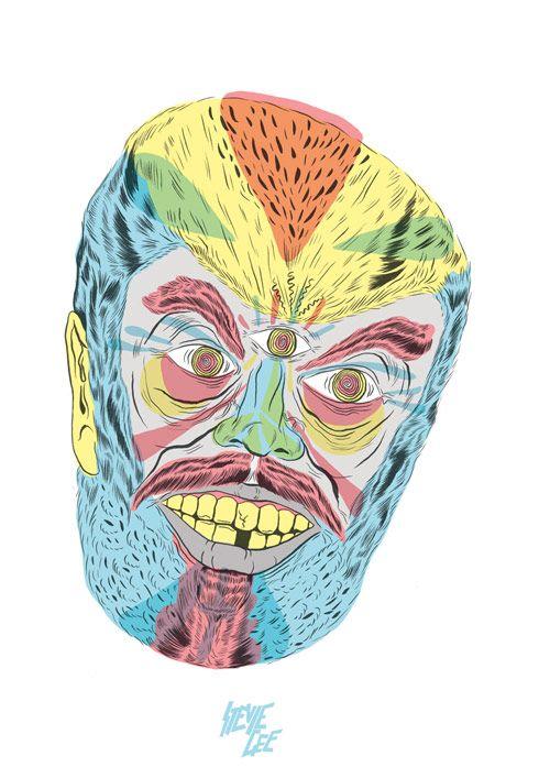 Stevie GeeFace Off, Stevie Lee, Daily Inspiration, Art Farts, Masks, Graphics Design, Illustration Inspiration, Stevie Gees, Gees Illustration