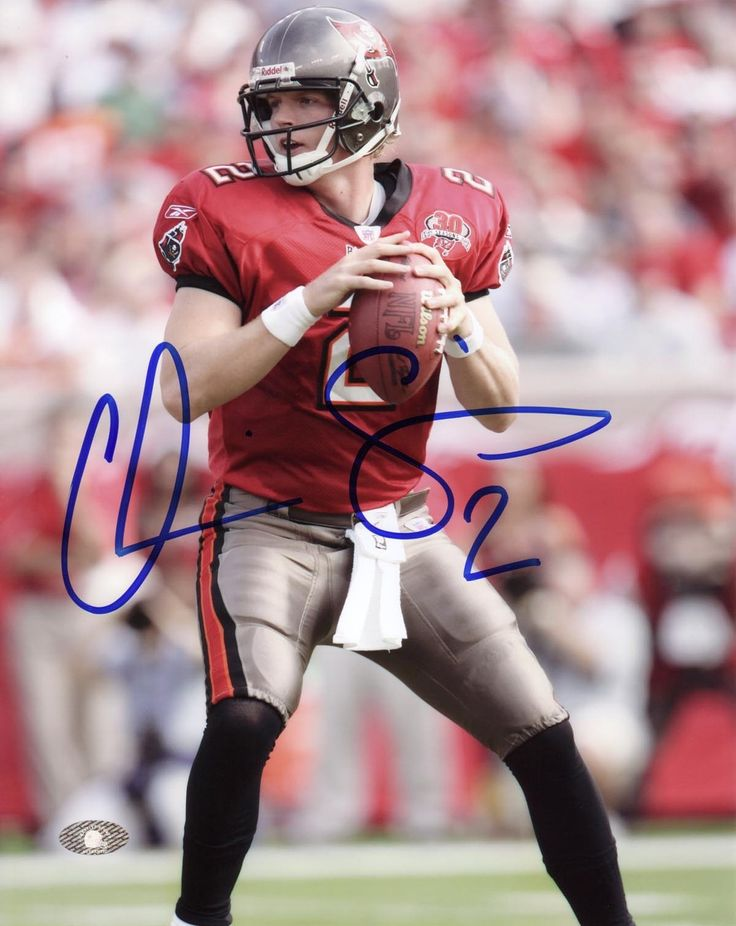 Chris Simms Hand Signed Tampa Bay Buccaneers 16 x 20 Photograph