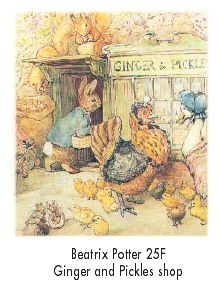 Beatrix Potter. Ginger & Pickle's Shop in the village. They sold almost everything.