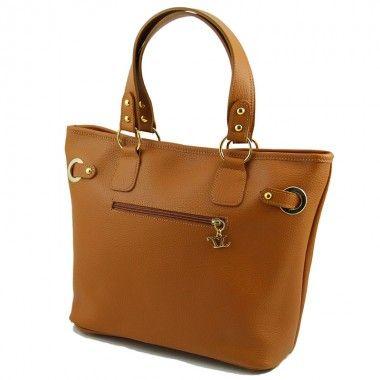 TL Bag - Citybag with golden hardware www.ciaobella.net.nz