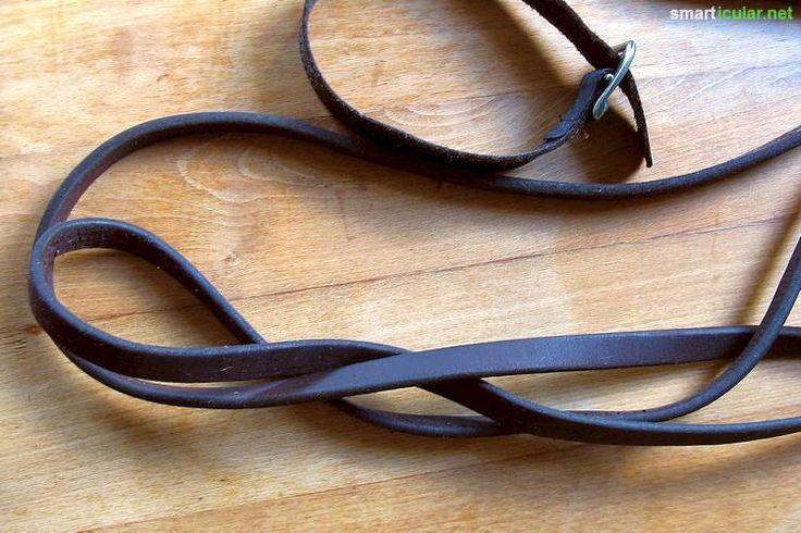 Leder hält nahezu ewig - Altes Leder aufbereiten und pflegen