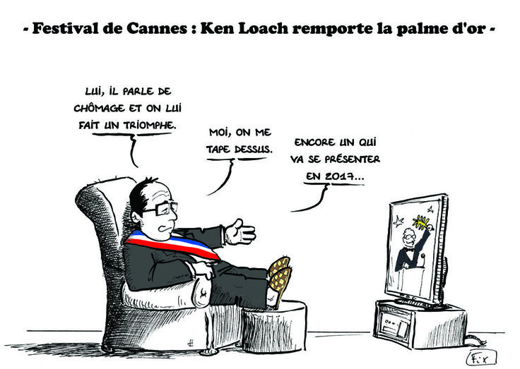 Palme d'Or #Cannes2016 #Loach #Palmedor