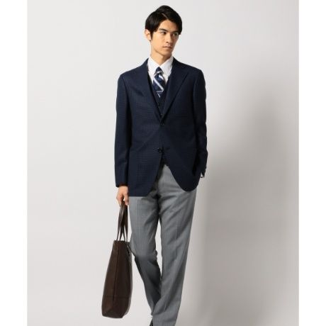 ハイランドペピンモヘヤメッシュハウンドトゥースジャケット   Jプレス(メンズ)(J.PRESS MEN)   ファッション通販 マルイウェブチャネル[TO911-116-13-01]