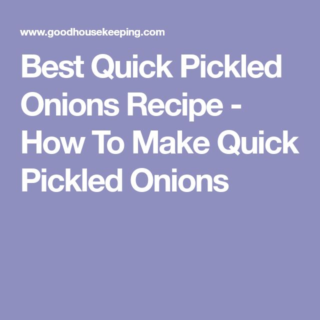 Best Quick Pickled Onions Recipe - How To Make Quick Pickled Onions