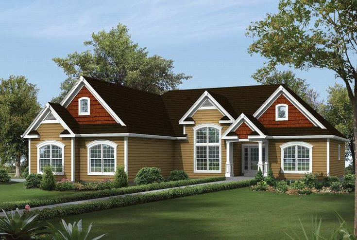 48 best house plans 1900 2200 sq ft images on pinterest for 3 car garage cost per square foot