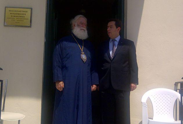 Συνάντηση Ν. Μηταράκη - Θεόδωρου Β', Πατριάρχη Αλεξανδρείας και πάσης Αφρικής