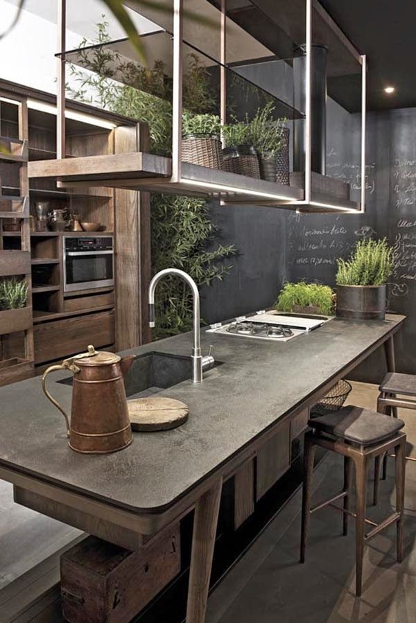 Best 20+ Rustic industrial kitchens ideas on Pinterestu2014no signup - rustic modern kitchen