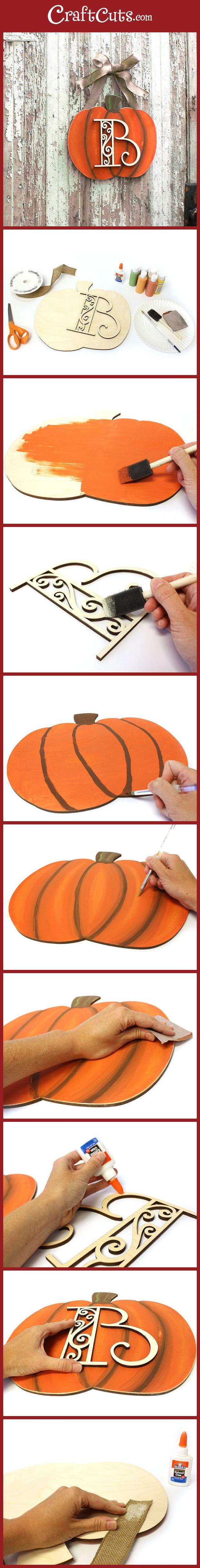 DIY Fall Decor - so cute and easy!