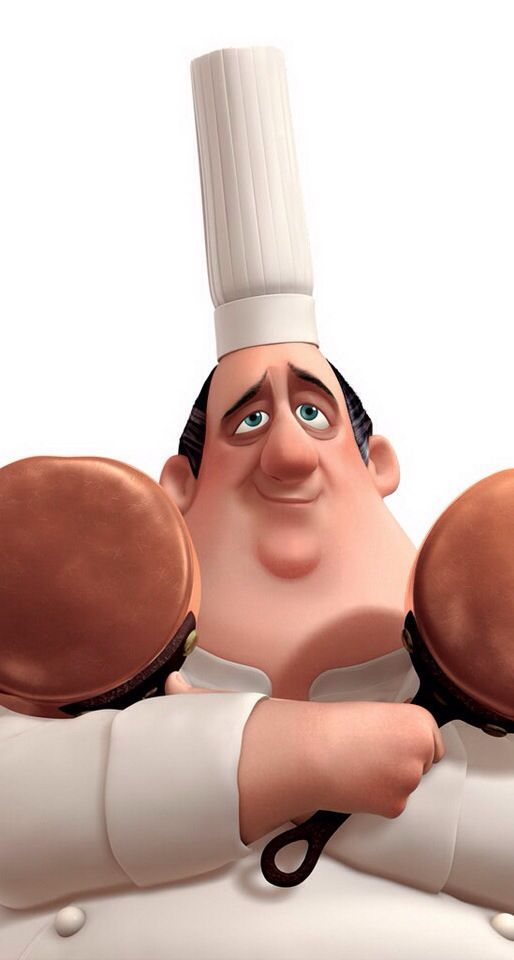 The chef from Ratatouille
