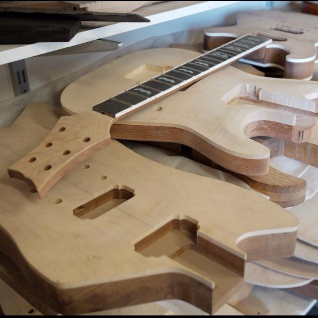 Guitars in the making by Xavier Petit http://xavierpetit.com