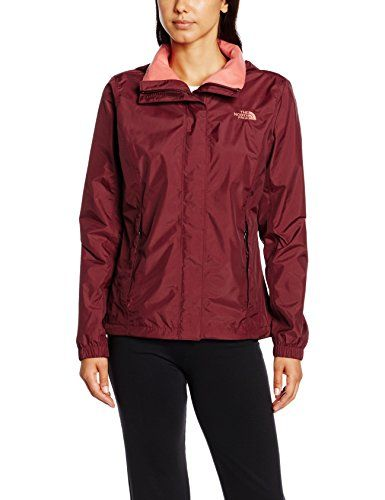 The North Face W Resolve Jacket Chaqueta, Mujer, Rojo, M