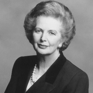 Born 13 October 1925.  Margaret Thatcher was the longest serving Prime Minister for more than 150 years and was the first woman ever to take the role.  Her father, a shopkeeper and Mayor of Grantham, was a major formative influence.