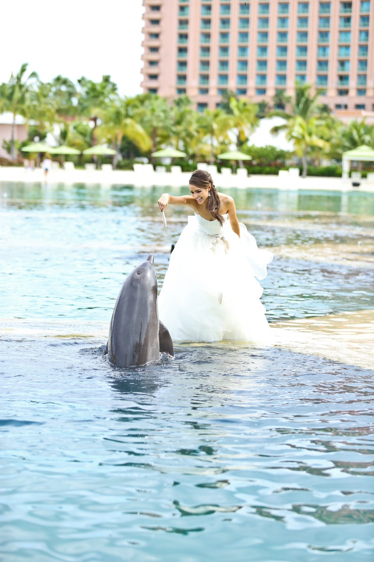 Get married in The Bahamas! Let the team at Atlantis Paradise Island plan  your dream destination wedding in The Bahamas.
