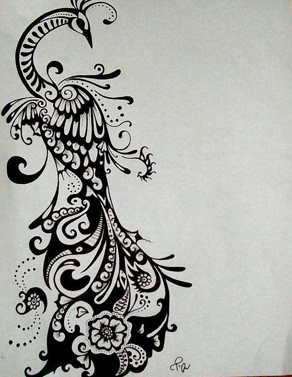 Not that I would ever get this, but it would be an AWESOME tattoo design if you wanted a peacock!
