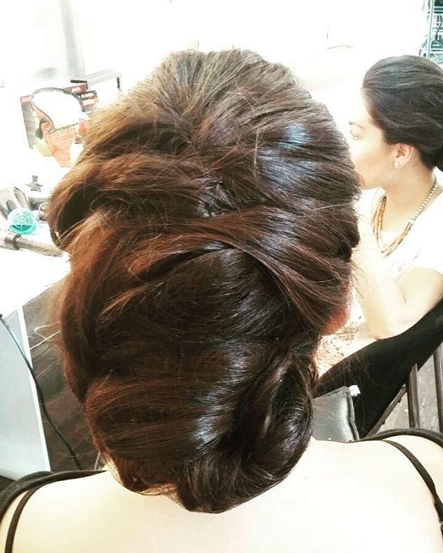 Peinado para melena con volumen. #peinado #recogido