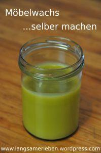 Möbelwachs (Bienenwachs, Olivenöl) für HARTHÖLZER