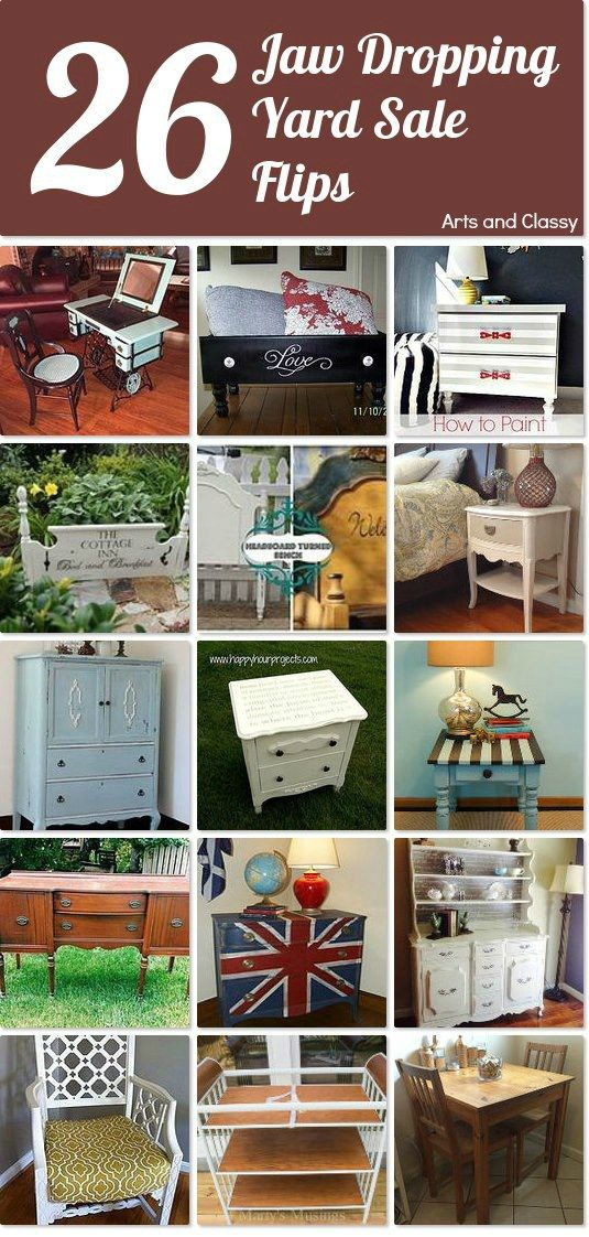 26 yard sale furniture flips that will make you flip. Black Bedroom Furniture Sets. Home Design Ideas