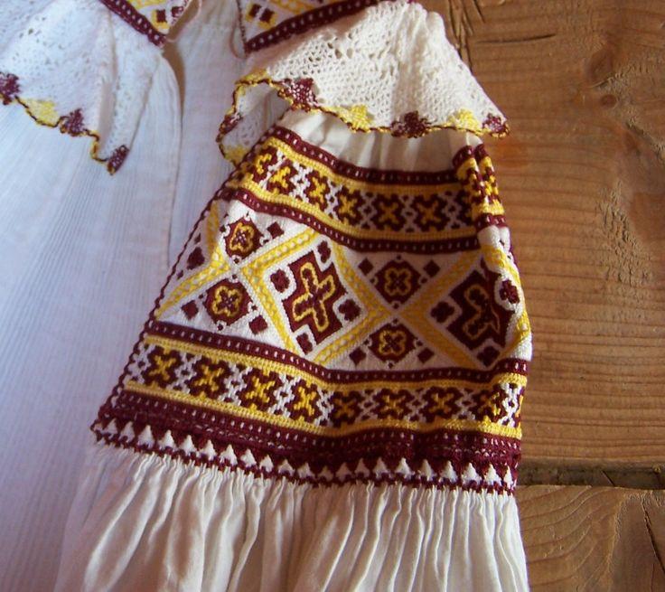 Slovak folk embroidery, Valasska Bela, okr. Nitra