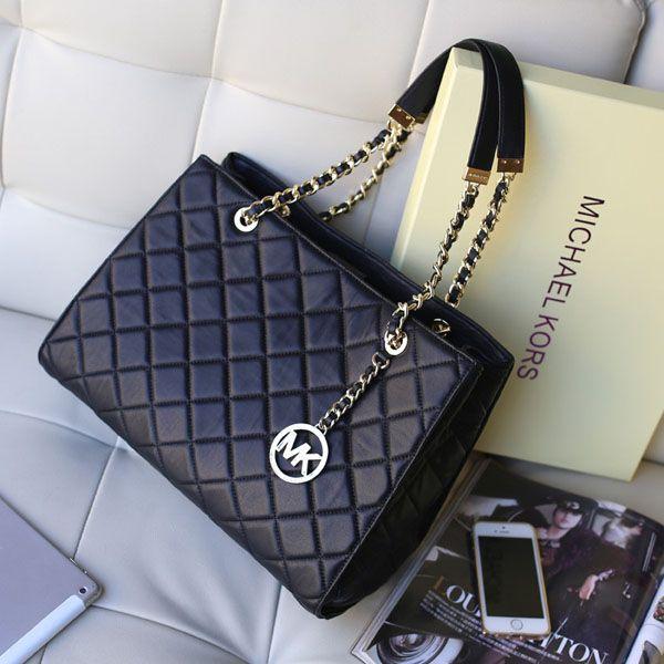 161 best Michael Kors (MK) Handbags images on Pinterest | Michael ... : michael kors black quilted handbag - Adamdwight.com