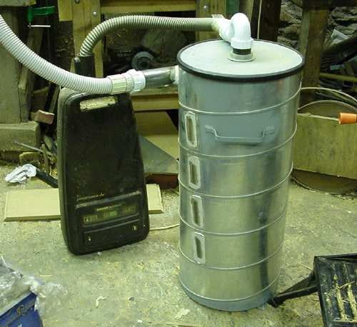 99 best images about Homemade Dust Collectors on Pinterest