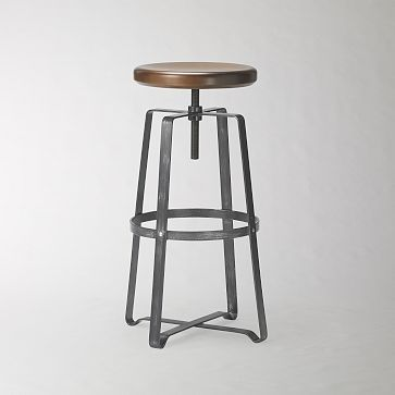 Adjustable Industrial Stool $179/each. kind of pricey, but it's hard to find stools both me and mr. m love...