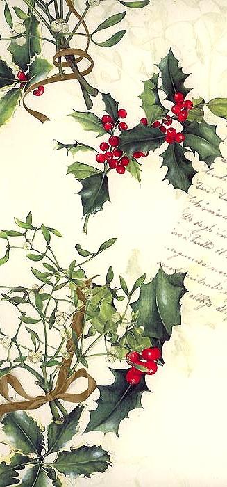 Italian Christmas crafting paper