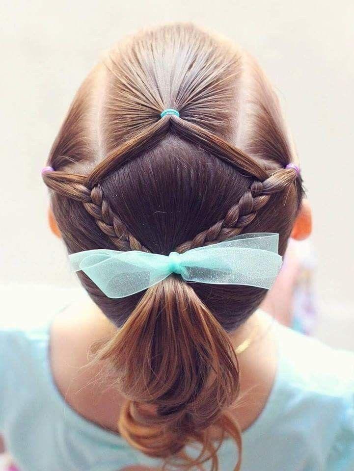 Pin By Nancy Shycaru Garcia Ibarra On Peinados Nina Hair Styles Girl Hairstyles Little Girl Hairstyles