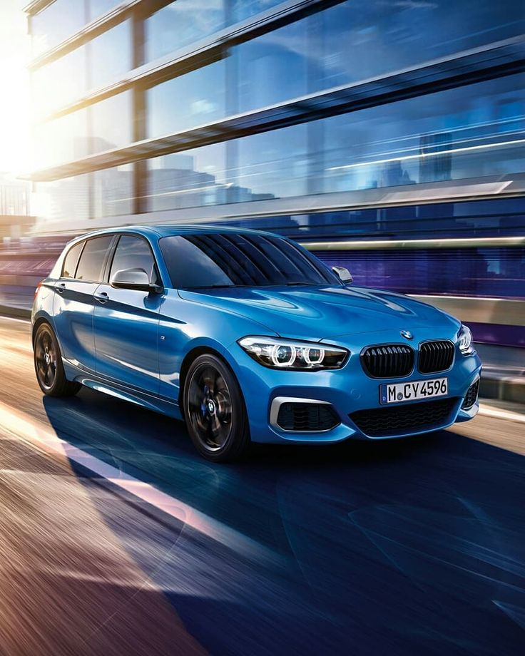 Thanks to a lowered chassis, M sport brakes, and #MPerformance modified steering, the #BMW #M140i embodies sporty driving pleasure and fascinating driving dynamics.  #BMWM  __________ BMW M140i 5-door – Fuel consumption (combined): 7.8-7.1 l/100 km; CO2 emissions (combined): 179-163 g/km.  Further information about the official fuel consumption and the official specific CO2 emissions for new passenger automobiles can be found in the 'New Passenger Vehicle Fuel Consumption and CO2 Emission…