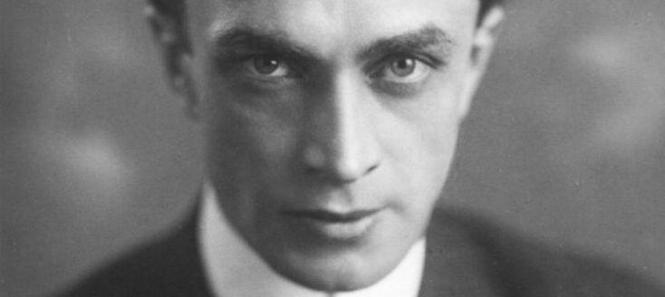 A striking image of Conrad Veidt